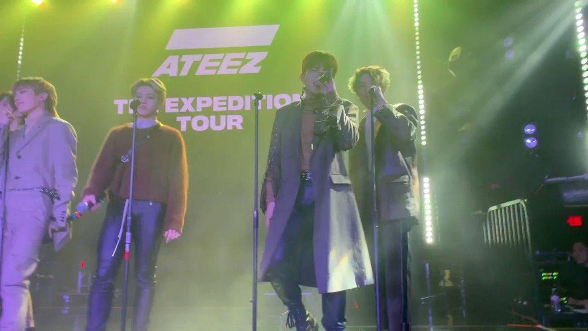 ATEEZ TOUR STARTS TODAY's photo on #ATEEZExpeditionTourLA