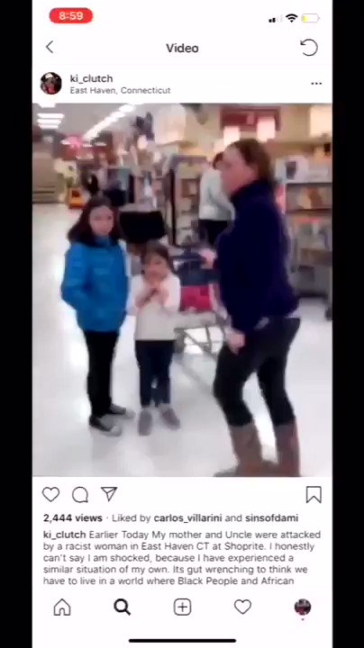 "In the latest episode of, ""White People Be Buggin"" here is Connie Magovery Terrone verbally attacking a young Black Male in Shop Rite of East Haven. You can here her clearly stating, ""there are fucking niggers in East Haven, yeah i said it. She allegedly works for a HS or college"