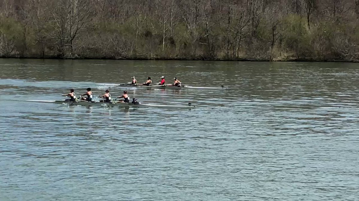 The V4 group of Manfreda - Bhalla - Hills - Groth and McGovern (c) in action today in Oak Ridge.  Irish finish second in 6:26.561, behind Alabama (6:21.357) and ahead of Louisville (6:35.723)