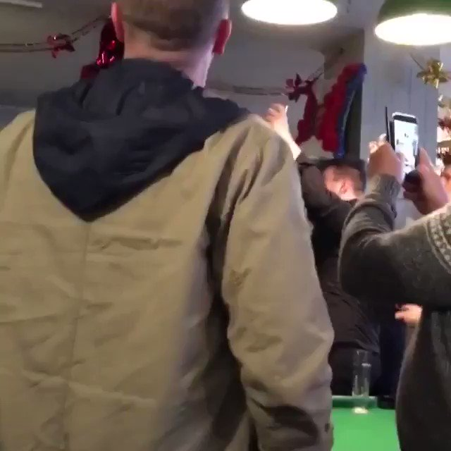 Ole's at the wheel!!!   United fans in Magic Lantern, Wolves   #Mufc #MufcAwayDays   (🎥 IG: conconwilk)