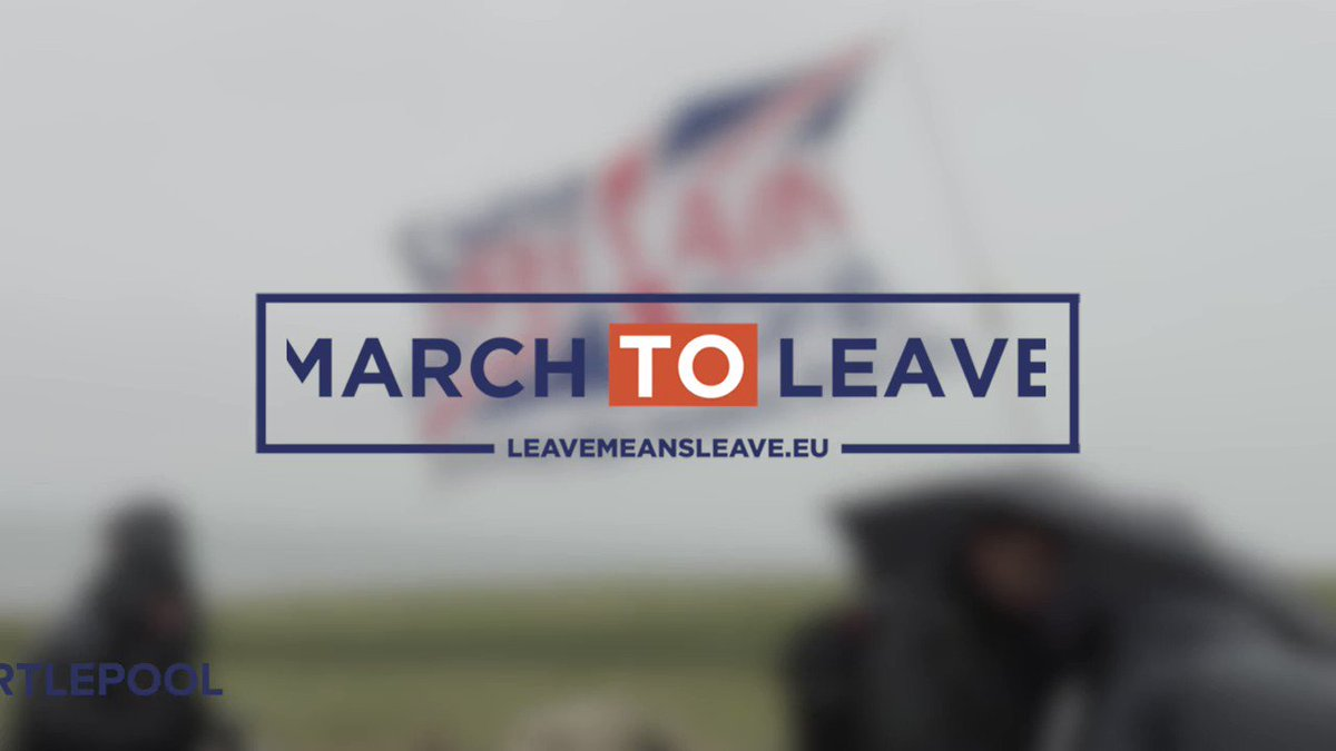 Our #MarchToLeave started with a bang today... it's time to just leave without a deal.  RT if you've had enough of the establishment betraying Brexit!