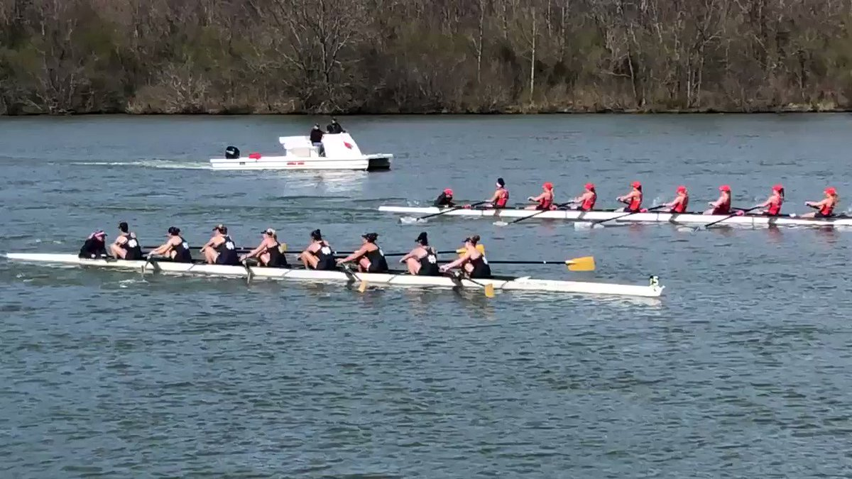 The V8 in action - first race of our afternoon session at Oak Ridge  1. Wisconsin, 5:30.802 2. Notre Dame, 5:37.608 3. Clemson, 5:40.734