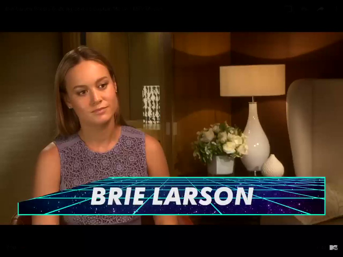RT @infinitespider: remember when brie larson thought captain marvel was chris evans,,,look at her now lmaoo https://t.co/a2ccEndeO4