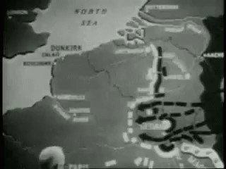 This animation of the Battle of France is from 1940. Pretty impressive animation for the time I must say...   Source: https://buff.ly/2HB6wLc More about the battle: https://buff.ly/2ILCTHK