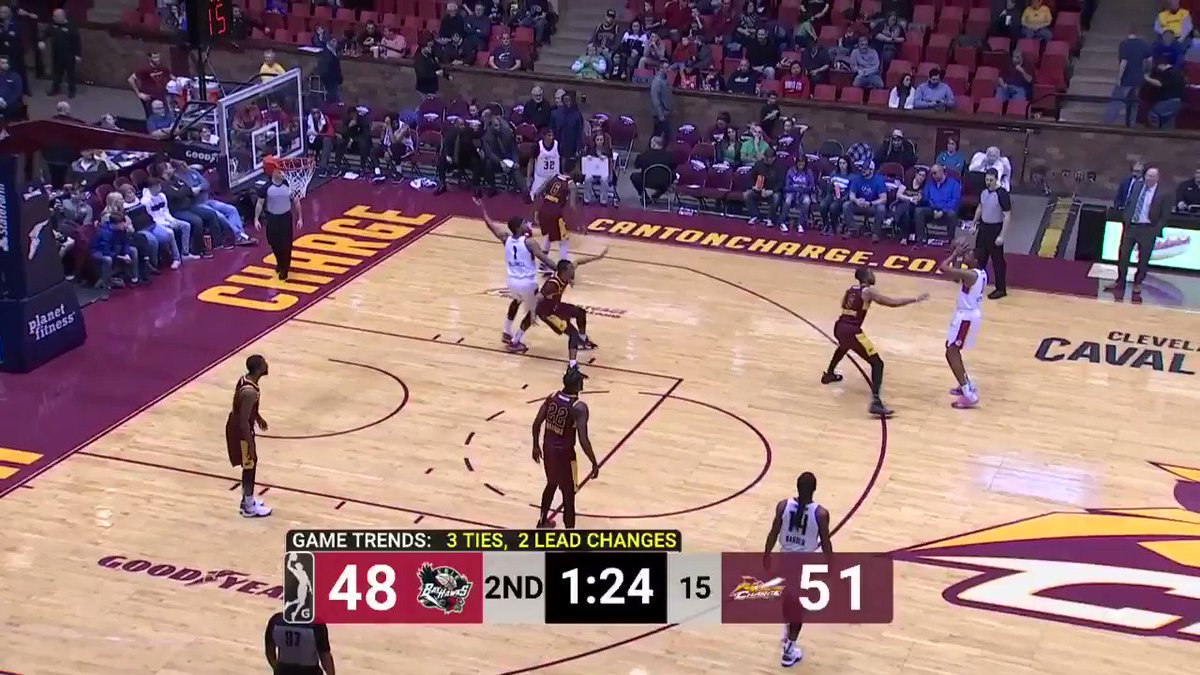 And ANOTHER ONE for JaCorey Williams (@_JWilliams22) 🚫  @MT_MBB ↗️ @CantonCharge   @ErieBayHawks 🆚 @CantonCharge: https://twitch.app.link/U7Ybfv1E2T