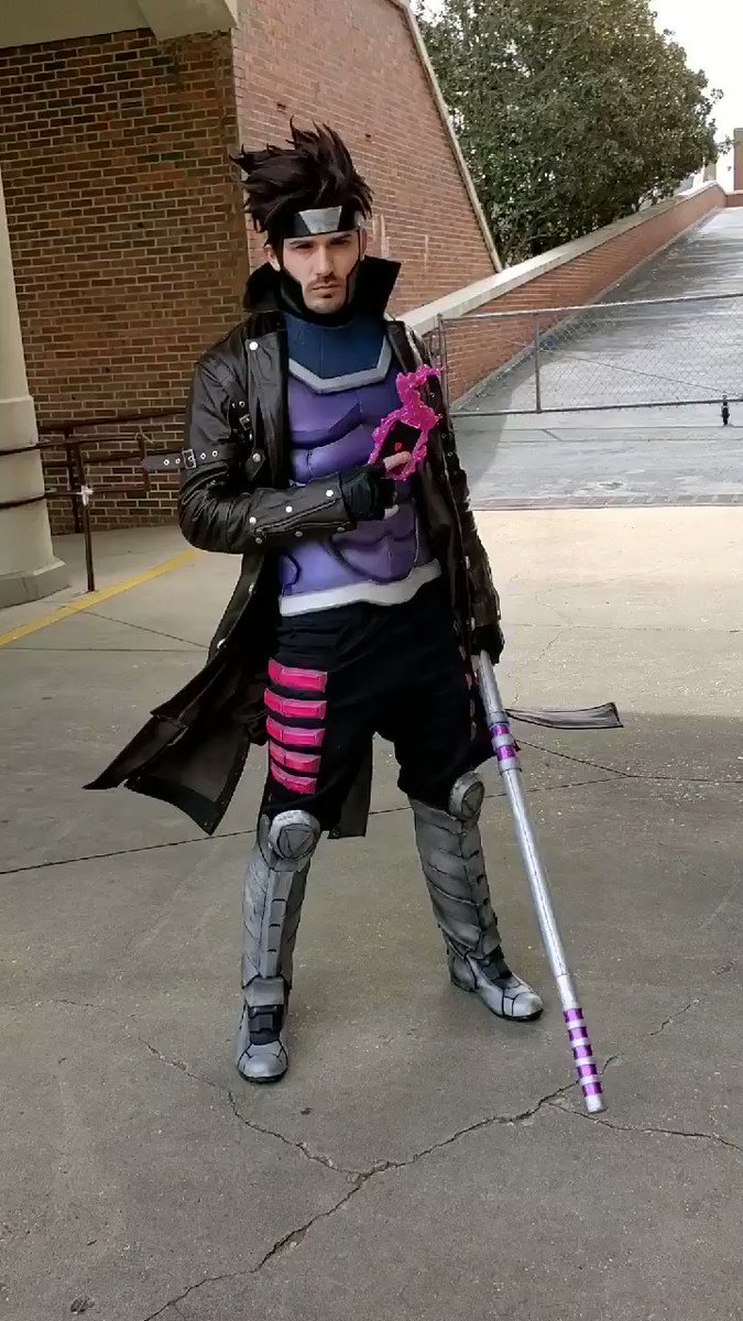 My Gambit cosplay finally done at Louisiana Comic Con!