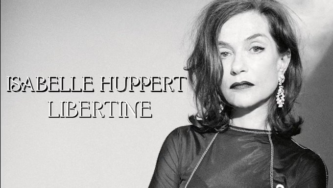 Happy Birthday to the great ISABELLE HUPPERT!