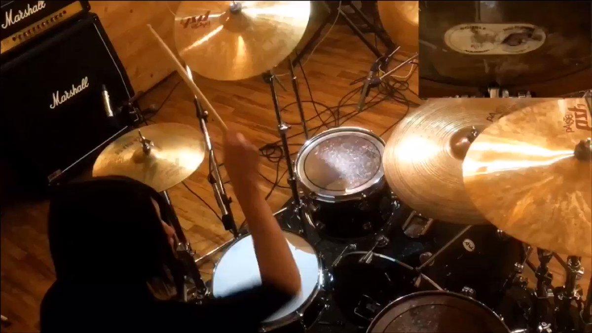 NOCTURNAL BLOODLUST /V.I.P drum cover 本当に大好きな曲でカバーさせていただきました。  NOCTURNAL BLOODLUST /V.I.P PV Recording : Uta師匠@Utakeybd #拡散希望 #ドットアールGEN#ドラム#叩いてみた#カバー#cover#バンド#ライブ