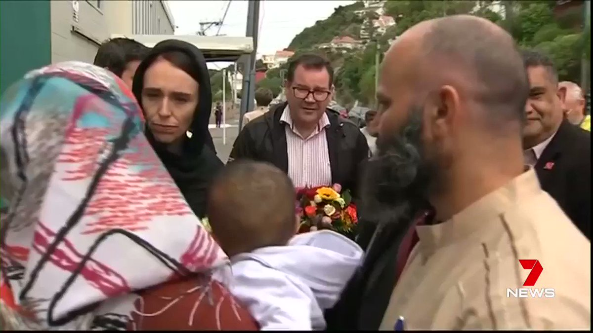 Can you imagine having a leader of a country showing this kind of empathy? Thank you, Jacinda Ardern, for reminding the world what a Leader is and could be.