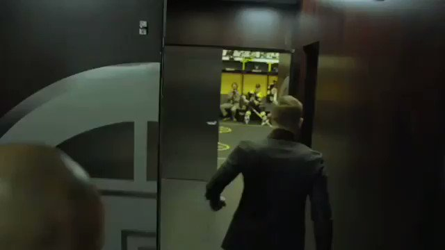 Here's the pre-game pep talk Conor McGregor gave the Boston Bruins in the locker room last night. https://www.instagram.com/p/BvGVh9XjfcC/?utm_source=ig_share_sheet&igshid=9vh3dfnn5pf7 …