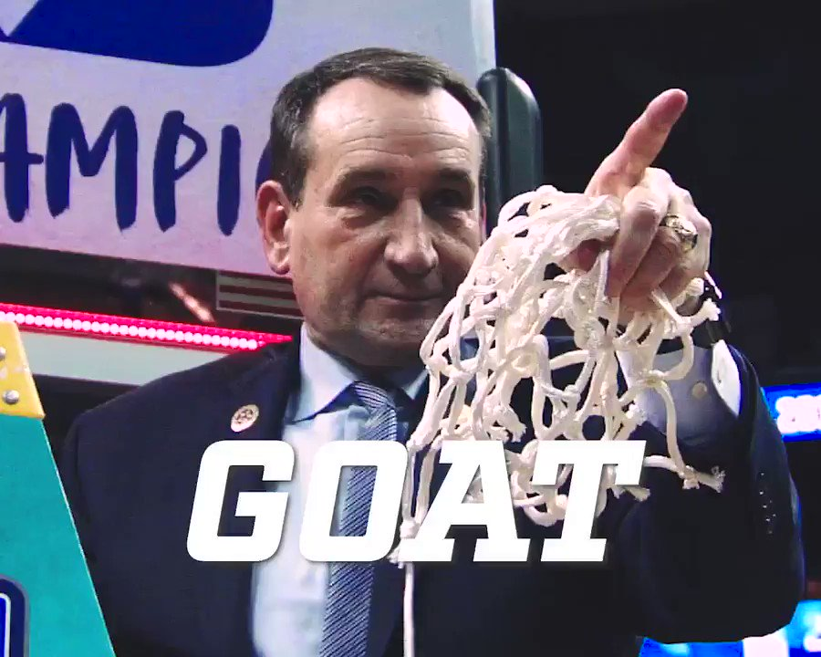 The 🐐 got another one.   15th ACC title. Most all-time.   🏆🏆🏆🏆🏆🏆🏆🏆🏆🏆🏆🏆🏆🏆🏆  #ACCTourney