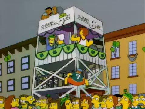 Los Simpsons's photo on San Patricio