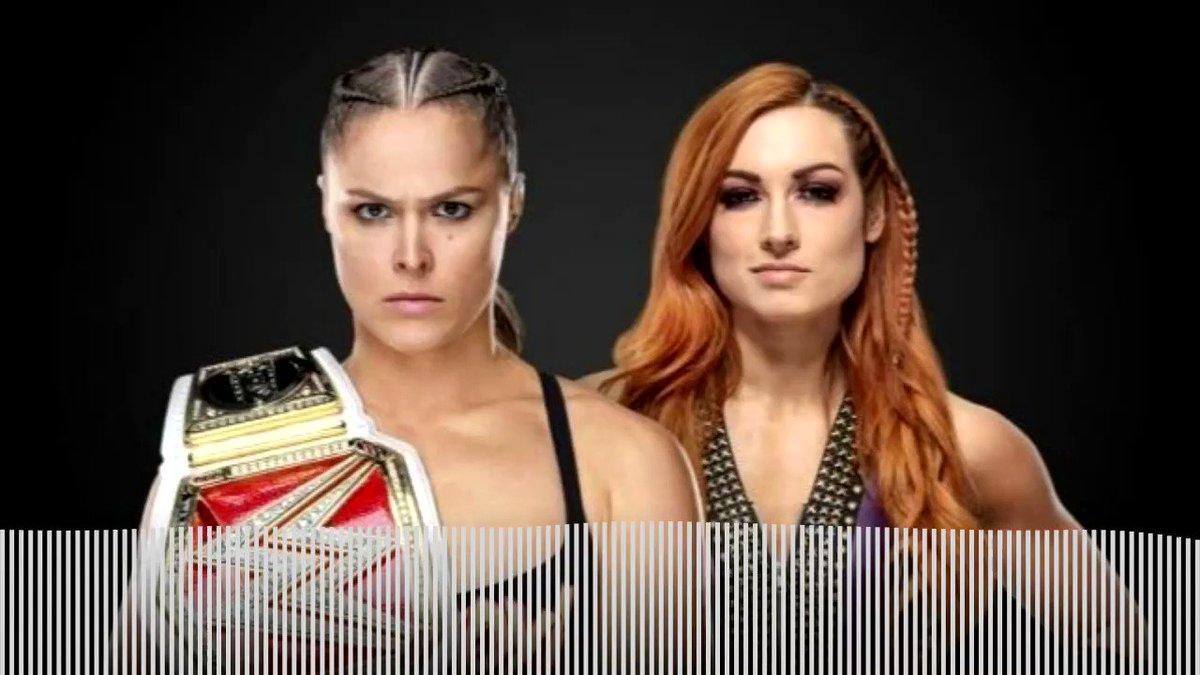 Hottest storyline in @WWE ....my thoughts in soundbyte form!   @RondaRousey @BeckyLynchWWE @MsCharlotteWWE