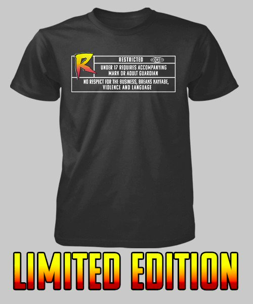 Do you Break Kayfabe and send marks into a tweeting rage?? Then your conduct may be Rated Rowdy! Avoid offending the easily offended by warning them off with one of these @RRouseydotcom limited edition T-shirt's!!!! https://t.co/8MzPVhYL9w