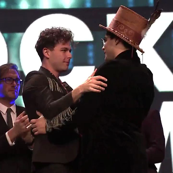 After Juno winner Jeremy Dutcher's acceptance speech for Indigenous album of the year was cut off, the Arkells invited him back on stage to cap the night. His passionate speech on reconciliation was delivered in English and Wolastoqey. https://www.cbc.ca/1.5059941
