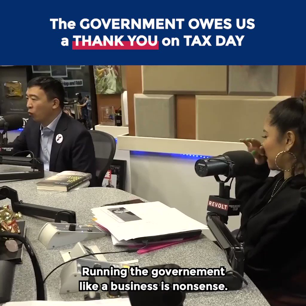 I would make Tax Day a holiday, allow citizens to choose where 1% of their taxes go, and make it a celebration.  Show a video of where your money goes and thank you.  Citizens deserve to be more involved and appreciated.