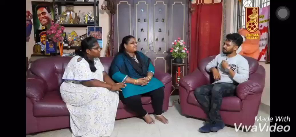 Exclusive !  Robo Shankar Wife n His Daughter Fan Girl Moments Towards #Thala  Like others Both were amazed by the Nature of AK 😎  #NerKondaPaarvai