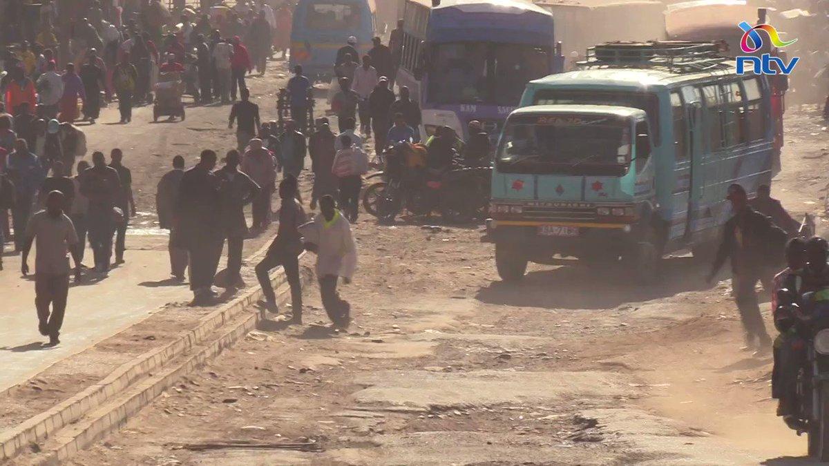 """""""Tumejaribu kufwata mheshimiwa, haonekani..."""" Starehe MP Njagua (Jaguar) missing as Gikomba traders decry poor state of roads."""