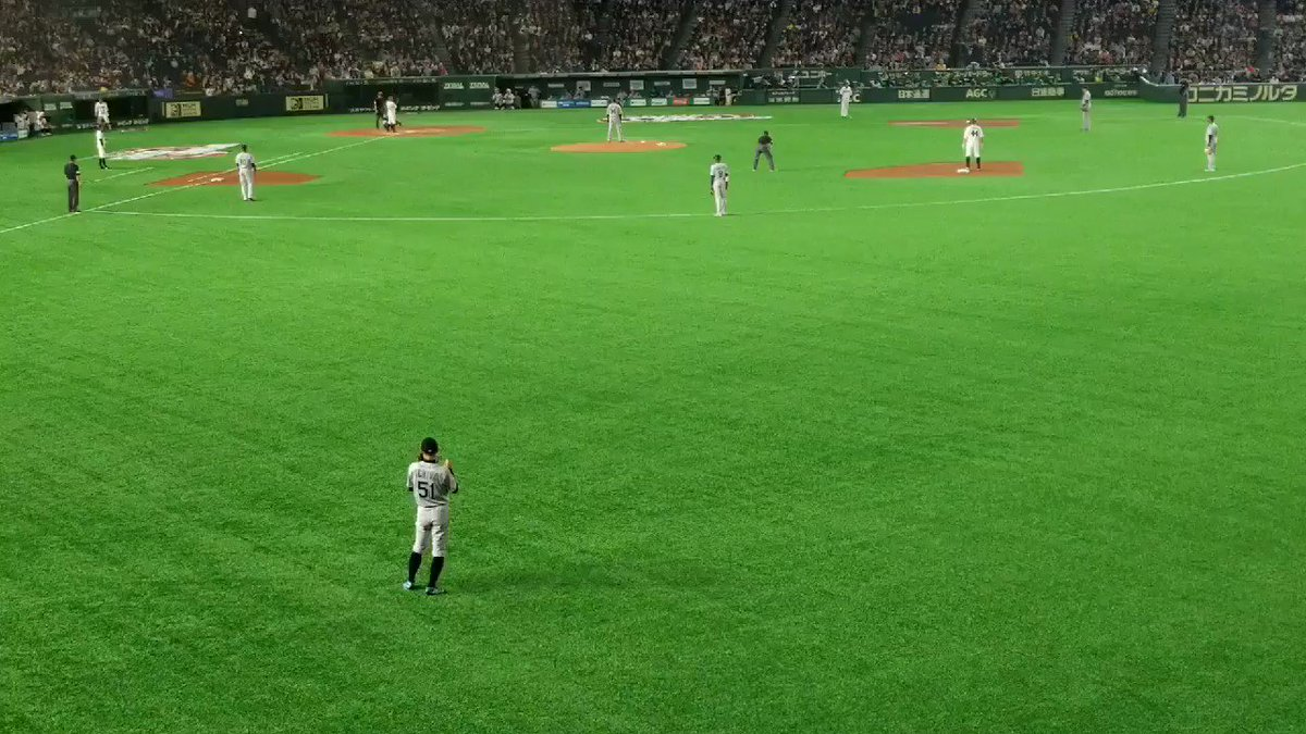 RT @yomiurigiants88: イチローのレーザービーム❗ #イチロー https://t.co/UVdqhD5Scx