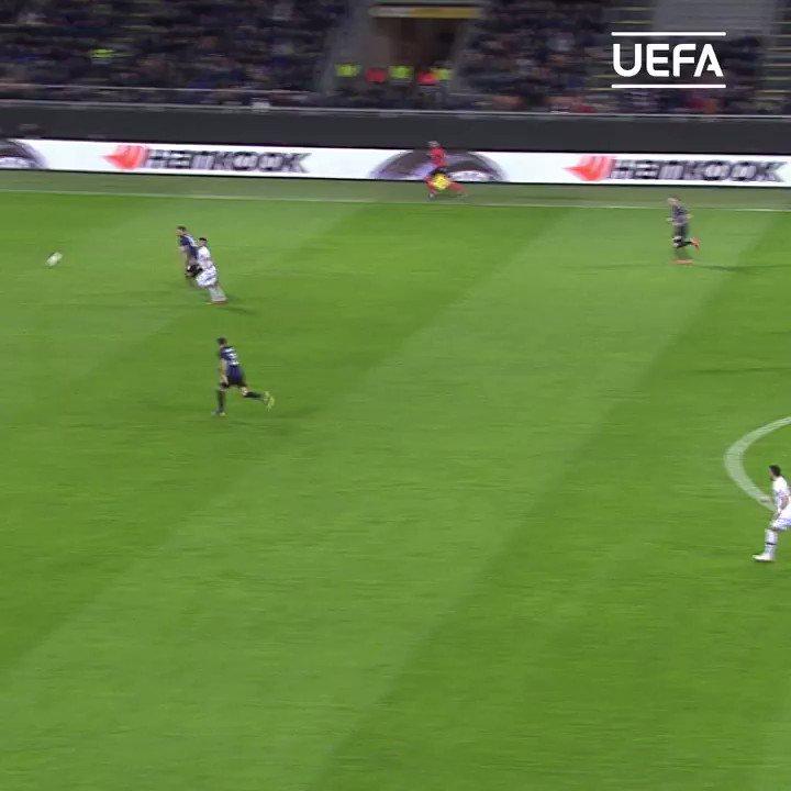 Glorious from Luka Jović 🥰  #UEL