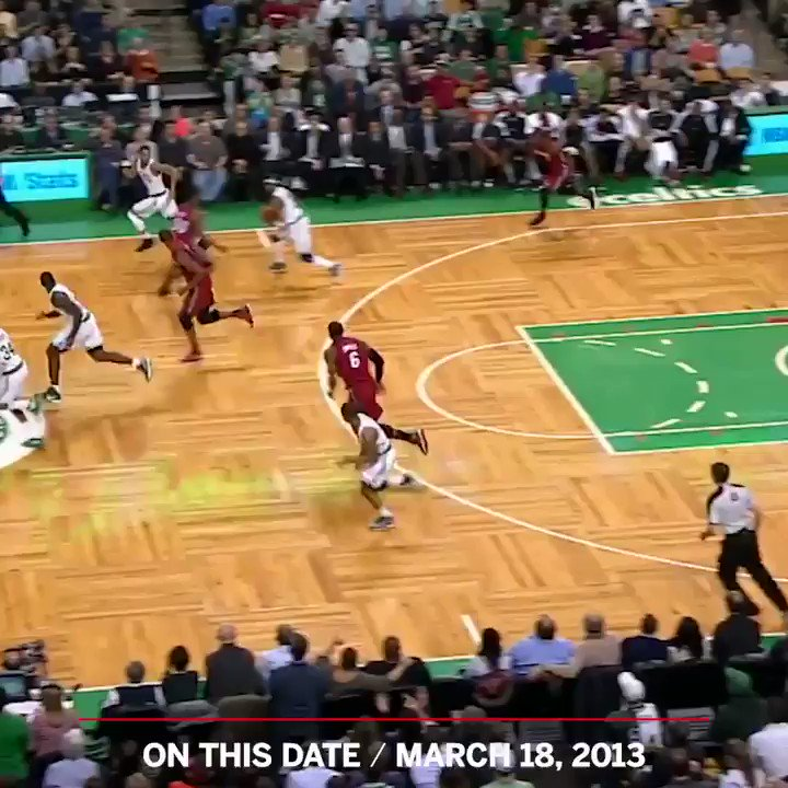 Six years ago, Jason Terry was in the wrong place and LeBron made him pay 😤