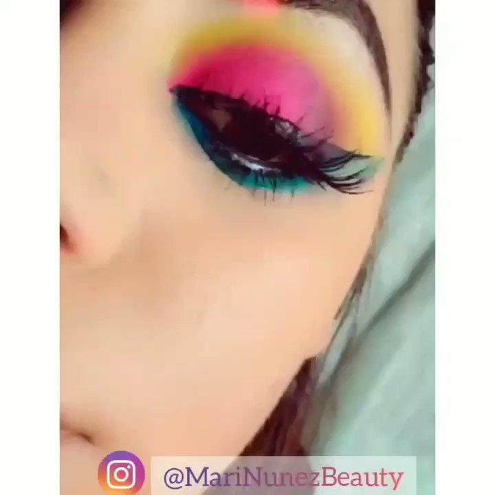 Beautiful colorful eye look  @bhcosmetics Take me to Brazil pallet  #MariaNunez  #MariNunezBeauty #FeelGoodLookGood #makeup  #maquillajedeojos #tutorial #eyeshadowtutorial #rainbow #arcoiris #bhcosmetics #takemebacktobrazilbrazilpalettepic.twitter.com/5Z8vpKxS1n