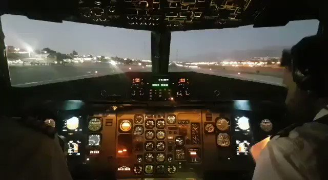 From the cockpit: Israir's ATR72 (4X-ATJ) takes off for the last time from the #Eilat airport.  Video: Oshrat Morad  @ynetalerts @airlivenet @CivMilAir #potn