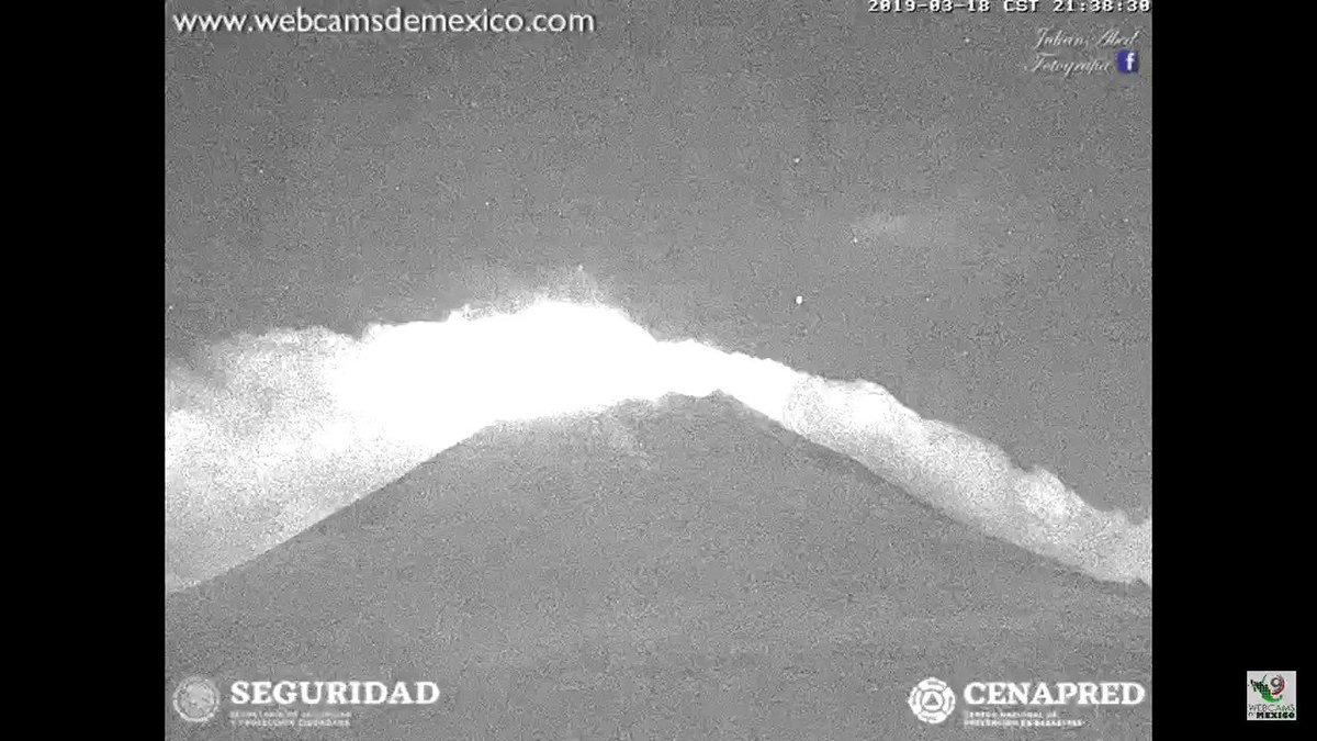 SkyAlert's photo on #Popocatépetl