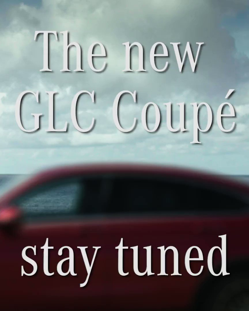 Image for the Tweet beginning: The new #MercedesBenz #GLC #Coupe.