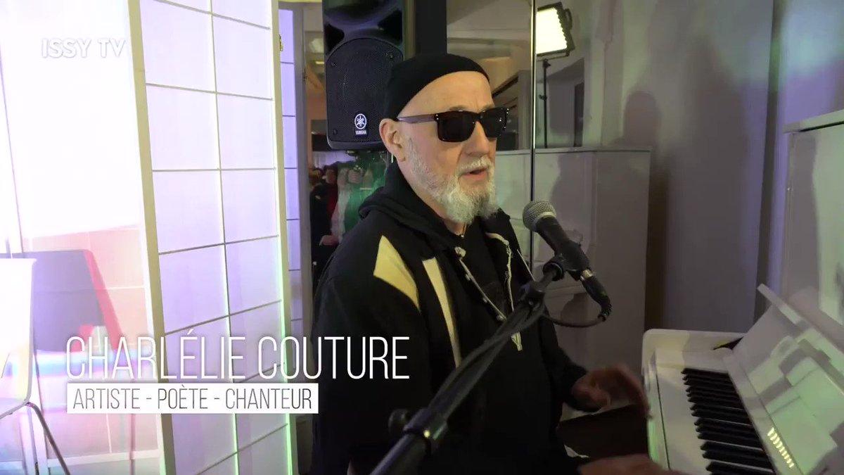 Image for the Tweet beginning: #ISSYTV  L'artiste aux multiples talents, CharlElie