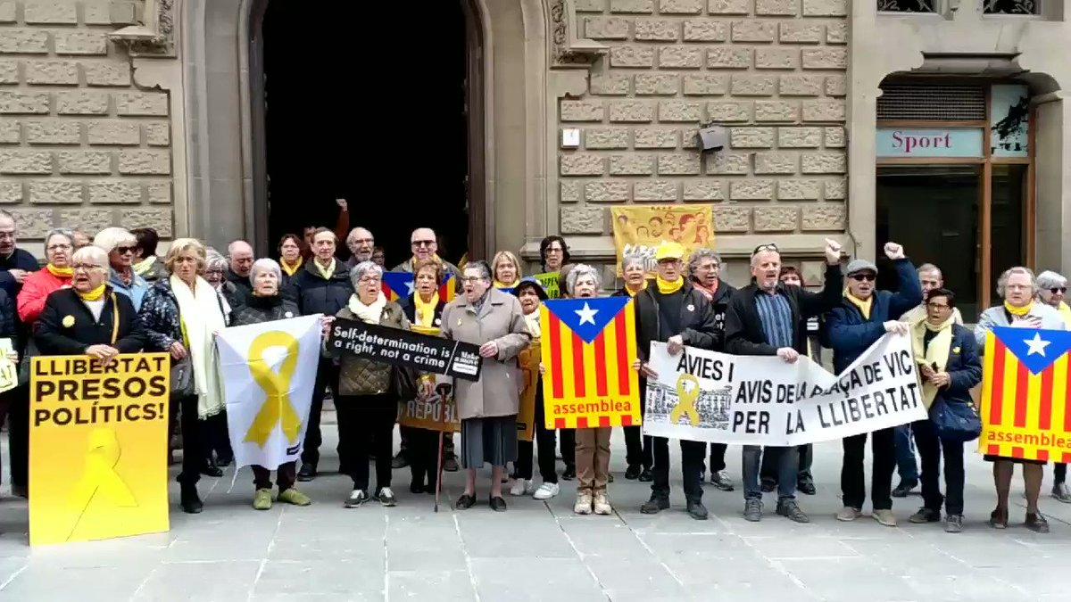 Image for the Tweet beginning: La independència de Catalunya és
