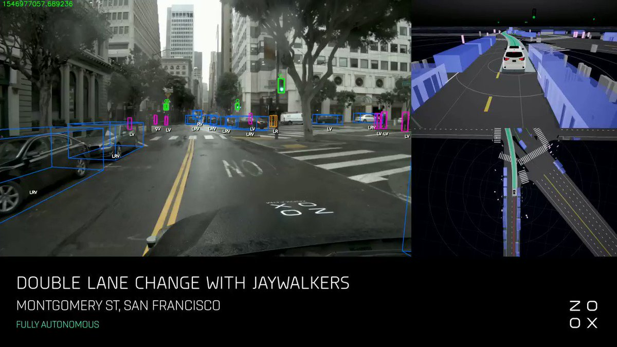 Image for the Tweet beginning: Autonomous driving on a rainy