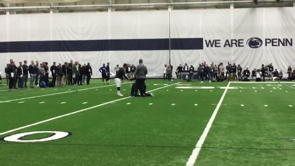 How Trace McSorley Performed At Penn State's Pro Day