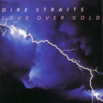 #DireStraits  Love Over Gold 1982  The album reached number 1 on album charts in Australia, Austria, Italy, New Zealand, Norway and the United Kingdom,  Love over Gold was later certified gold in the United States, platinum in France and Germany ,double-platinum in Canada and UK