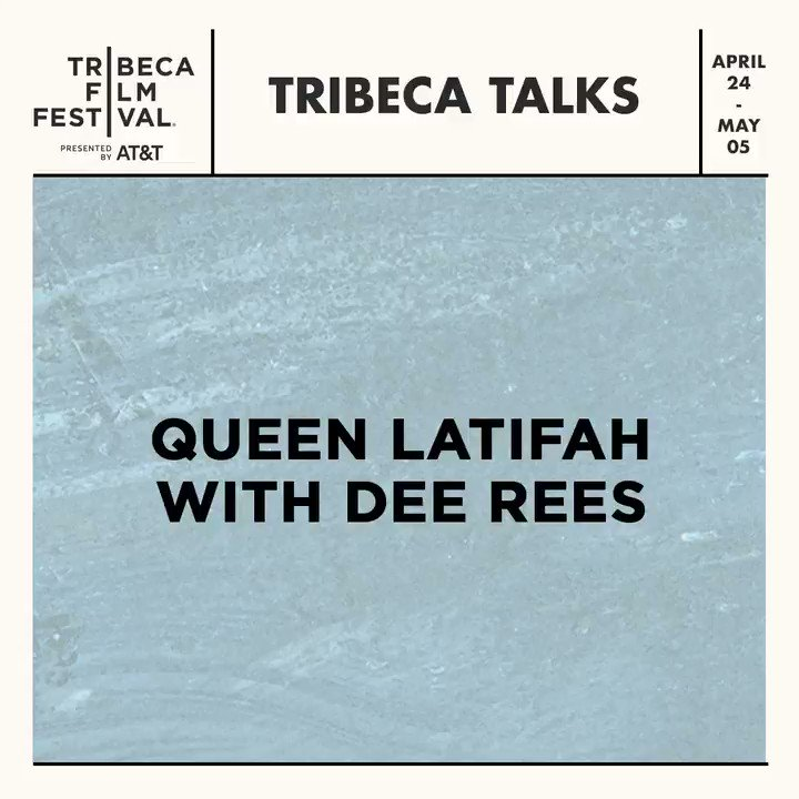 At #Tribeca2019, we're hosting a true Queen in conversation with one of her most gifted collaborators. #Tribeca2019 brings you Tribeca Talks: @IAMQUEENLATIFAH with Dee Rees and the premiere of the #QueenCollective shorts, brought to you by @ProcterGamble: http://bit.ly/2OdFQkV