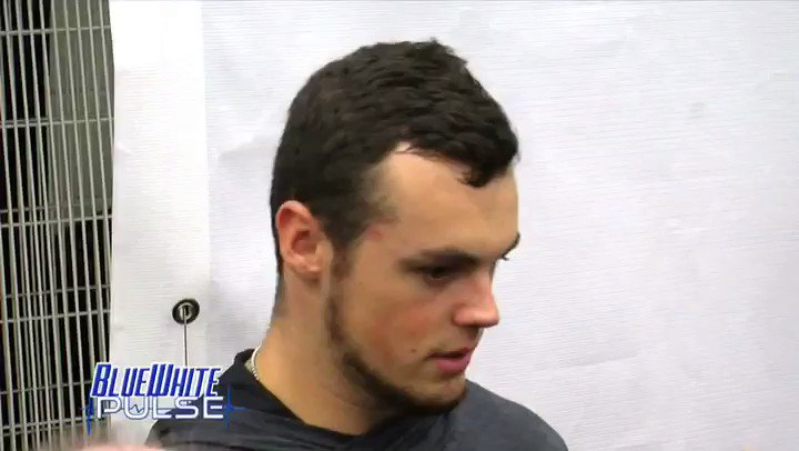 Image for the Tweet beginning: Trace McSorley talking about if