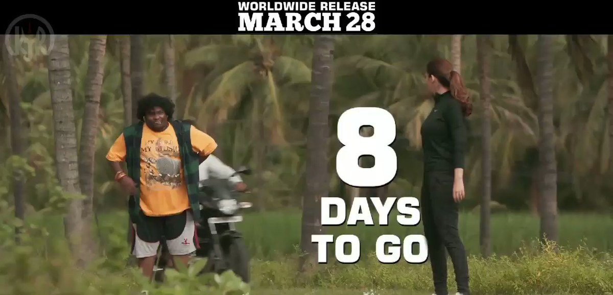 With #Airaa8DaysToGo, we are jogging towards #AiraaOnMarch28🦋  #Airaa  #LadySuperstar #Nayanthara @KalaiActor @sarjun34 @SundaramurthyKS @Priyankaravi20 @jogesh_karthik @tridentartsoffl @thinkmusicindia @DoneChannel1 @gobeatroute