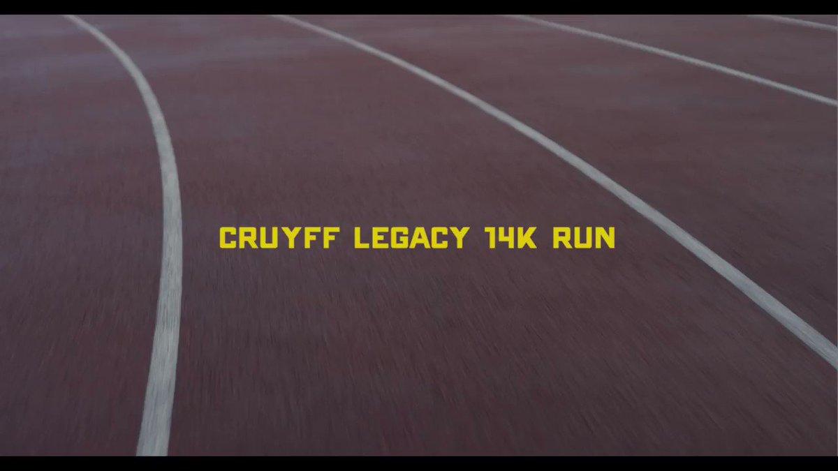 ¡El 11 de mayo, la Cruyff Legacy 14K Run en Amsterdam te llevará por lugares importantes de la vida de @JohanCruyff! 🏃♀️🏃♂️  http://www.14krun.nl #CruyffLegacy #14KRun2019