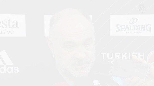 """🏀  Laso: """"Estoy contento porque tengo a los 16 jugadores disponibles por primera vez""""  Reyes: """"Es muy difícil llevar tantos años jugando al máximo nivel y es un orgullo batir el récord de partidos en la #EuroLeague""""  https://www.realmadrid.com/noticias/2019/03/laso-estoy-contento-porque-tengo-a-los-16-jugadores-disponibles-por-primera-vez…"""