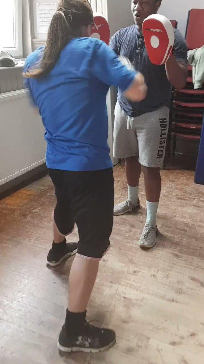 Image for the Tweet beginning: Superb boxercise class #buzzing#healthierlifestylechoice#SFSchampions#reducinghealthinequalities