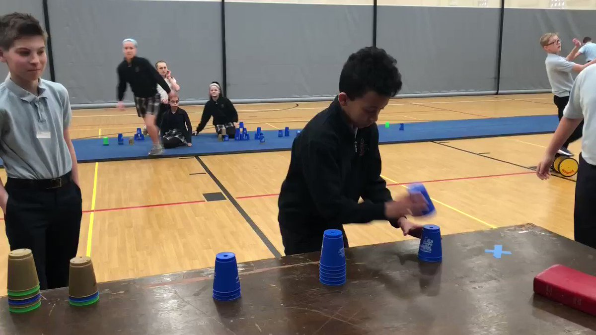 Image for the Tweet beginning: Pettenuzzo PE: cupstacking