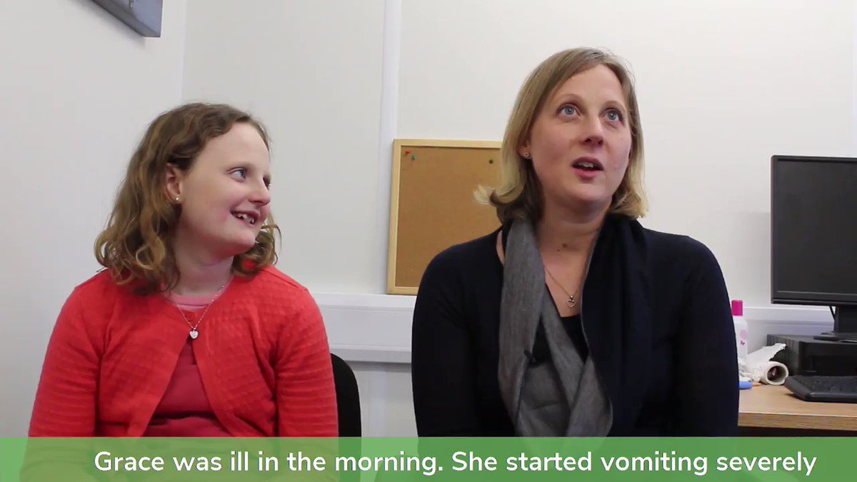 """Grace Gardiner was only four-months-old when she became critically ill in February 2007.   Twelve years after our team saved her life, she finally got the chance to meet them at their base and say hello again to the paramedic who her mum calls """"a hero"""".   http://bit.ly/GraceGardiner"""