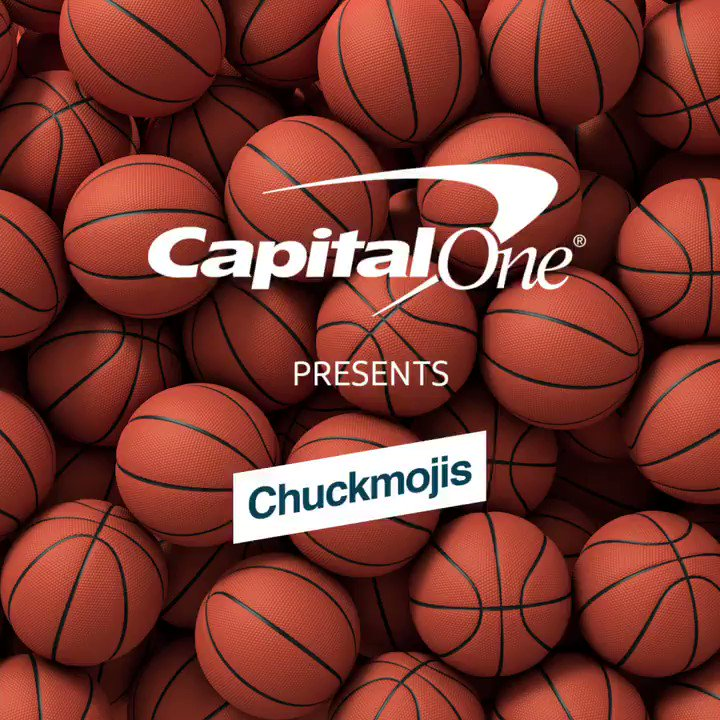 You don't want to see the #Chuckmoji for when my bracket gets busted. #FanGoals #CapitalOnePartner @CapitalOne