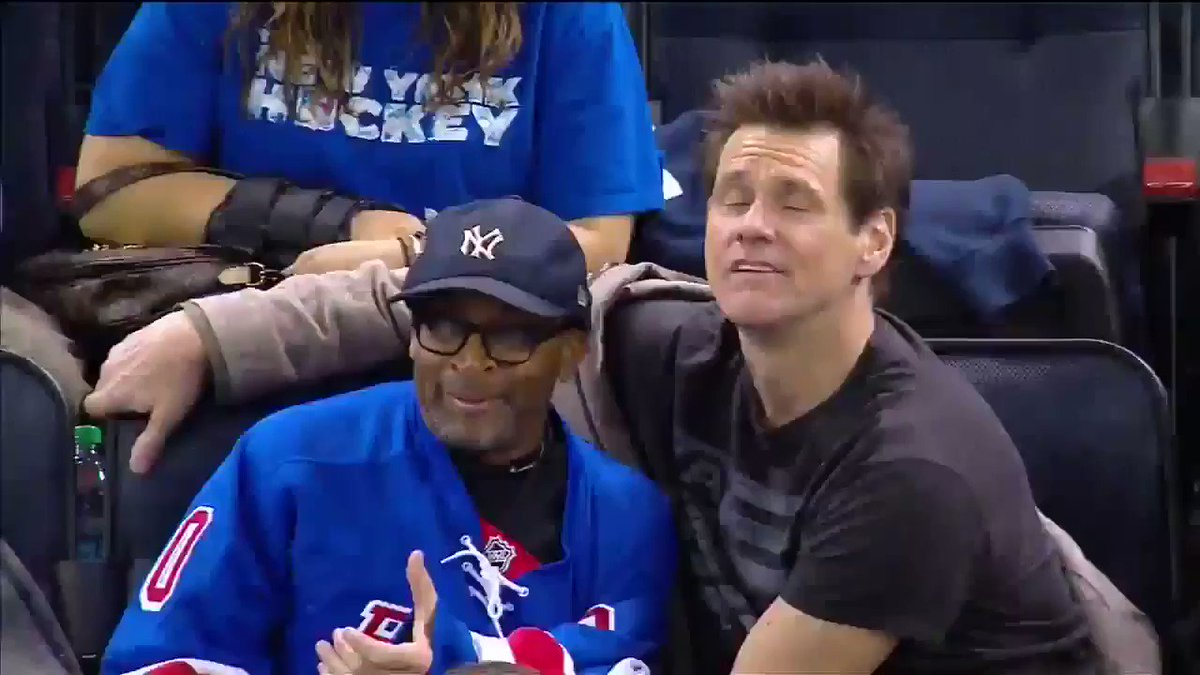 jim carrey and spike lee being the cutest people in the world i'm crying