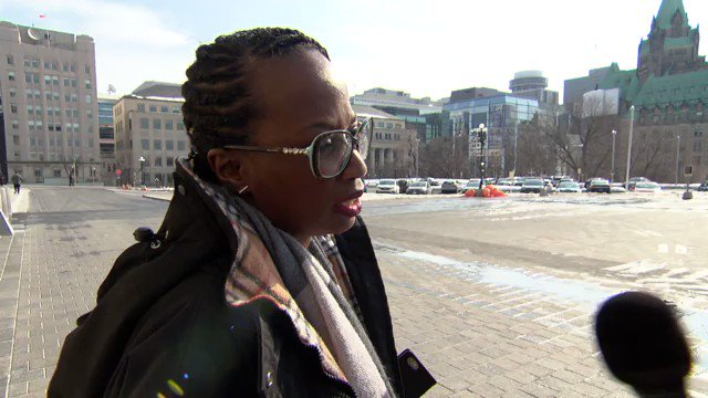 Image for the Tweet beginning: Celina Caesar-Chavannes quit the Liberal