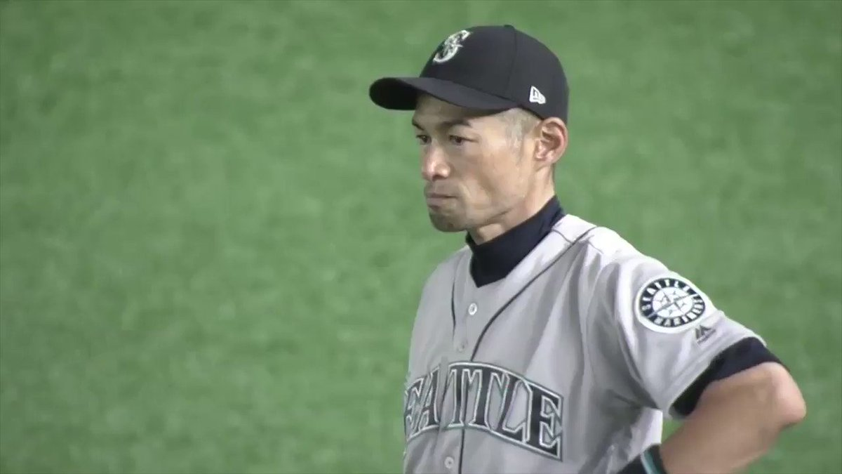 One final goodbye for a legend.  Ichiro got a standing ovation in Tokyo as he left his last MLB game. 😭
