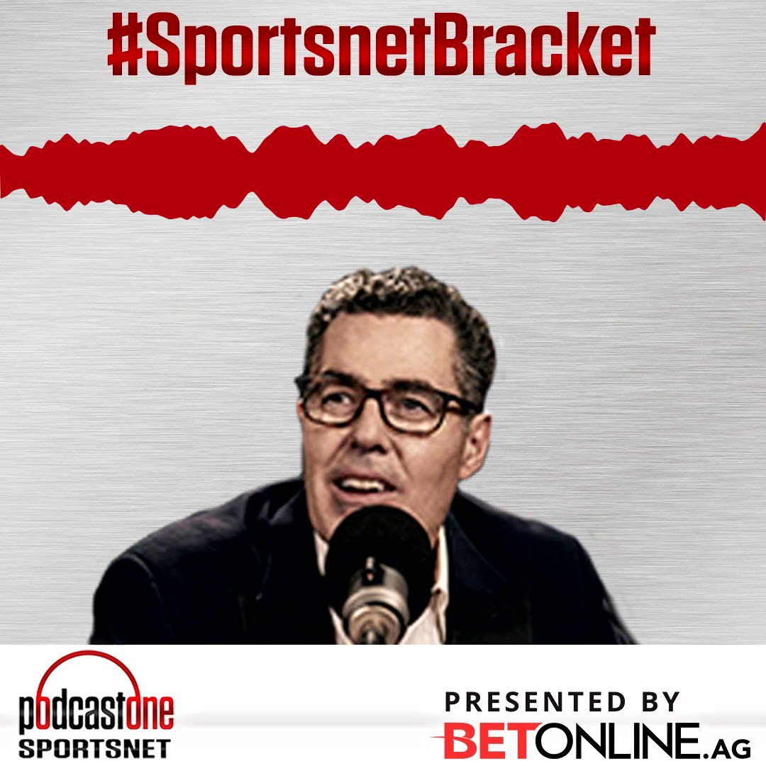 It's bracket season! Here's another way to win back your money! Head over to @BetOnline_AG and join the #SportsnetBracket challenge. Use promo code: PODCASTONE at sign up for your chance to win $$