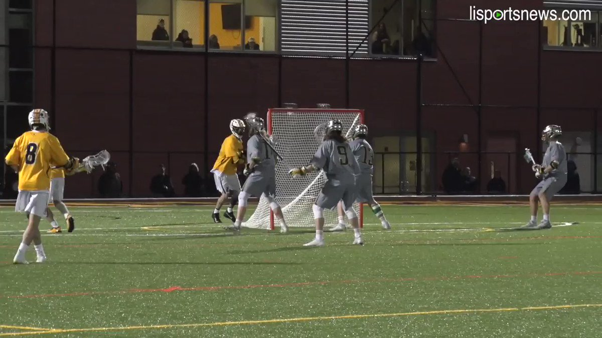 If it was up to us, we'd vote this no-look pass, over the shoulder, man-up goal  courtesy of Racalbuto as #SCtop10 #NCAAtop10 in last night's victory over #5 LIU Post!   @NCAADII @NCAALAX @TheNortheast10 @Inside_Lacrosse @LaxSportsNet @SportsCenter @LacrosseNetwork @lisportsnews