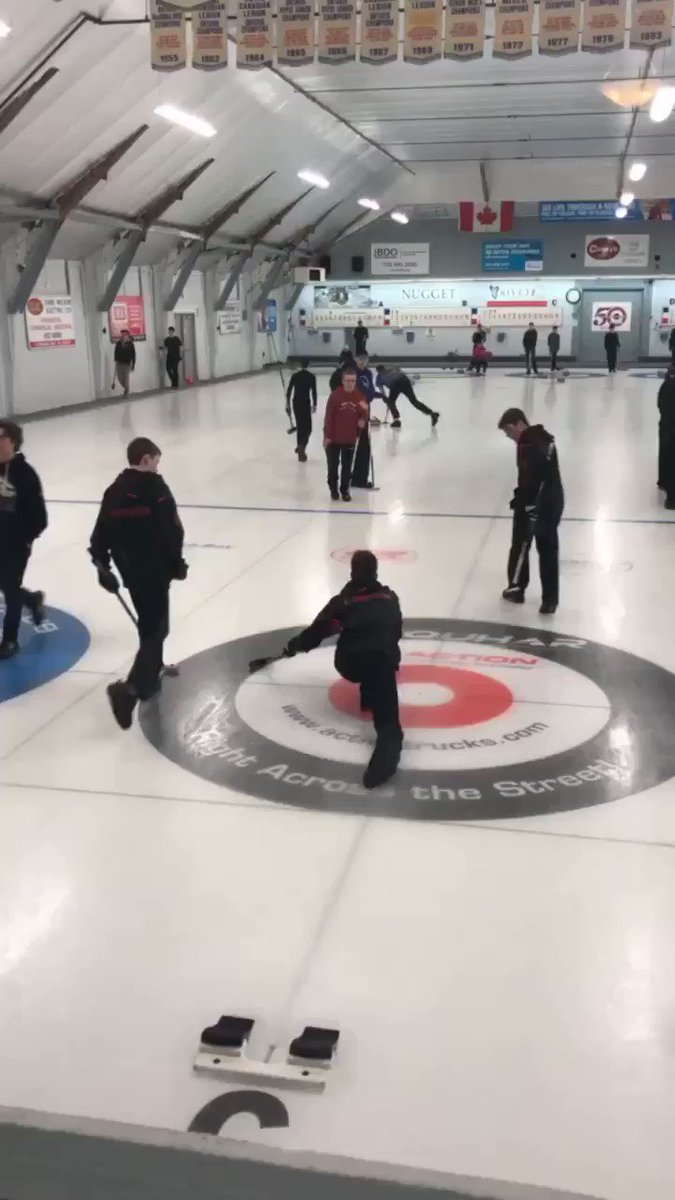 Image for the Tweet beginning: #OFSAACurling Day 2: 1 win,