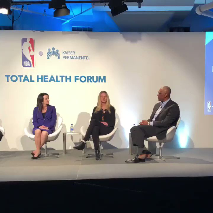 Head of Sport at @Headspace, Lindsay Shaffer speaks on the company's vision of mental strength in sport. #TotalHealthForum @KPShare